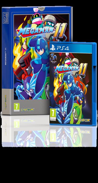 Mega Man 11 - Collector's Edition PS4
