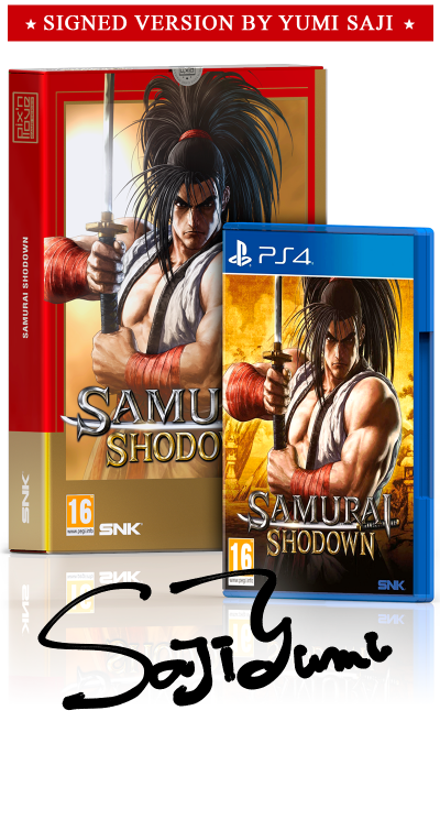 Samurai Shodown - Collector's Edition Signature PS4