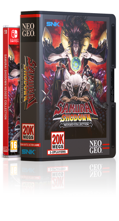 Samurai Shodown NeoGeo Collection - Collector Switch