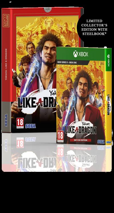 Yakuza: Like a Dragon – Xbox Limited Edition