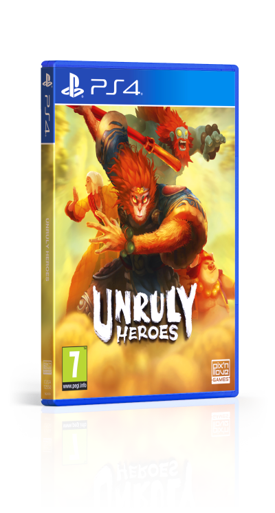 Unruly Heroes - PS4