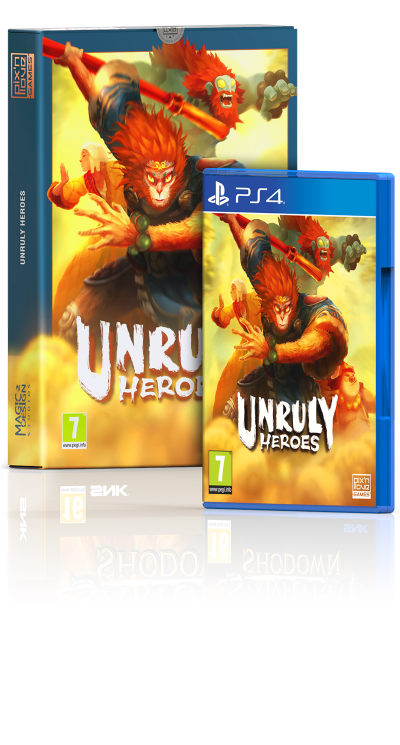 Unruly Heroes - PS4 Limited Edition