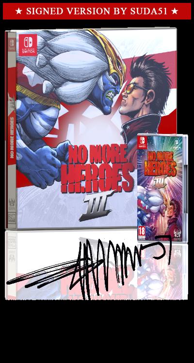 No More Heroes III - Deluxe Edition