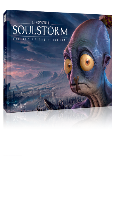 Oddworld: Soulstorm - The art of the videogame